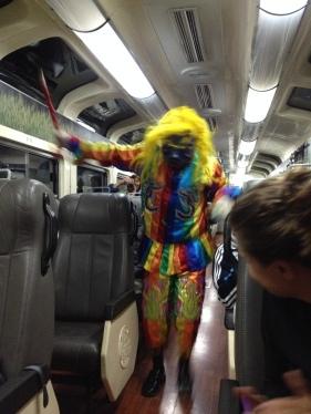 Xou al tren!