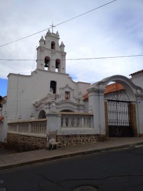 L'església de la Recoleta