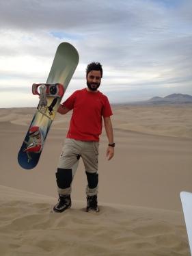 I ara sandboard!