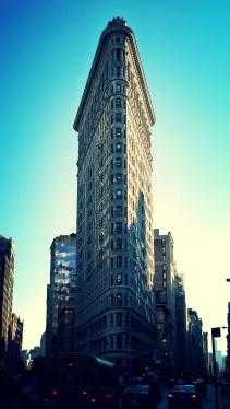 Edifici Flatiron, a principis del s. XX el més alt de la ciutat.