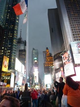 Llums i llums al Time Square