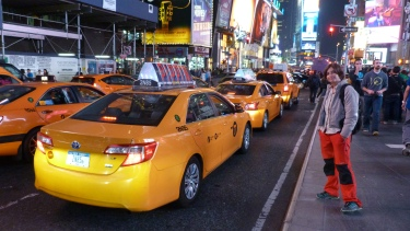 Els típics taxis grocs també són reals