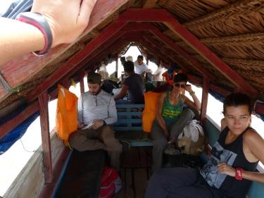 Iniciant el tour cap a la selva amazònica