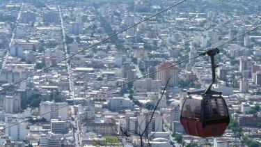 Vistes de Salta des de El Cerro San Bernardo