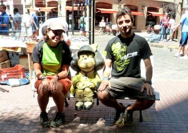 Fins i tot trobem la Mafalda