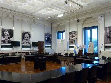 Interiors de la Casa Rosada