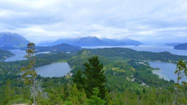 Vistes de Bariloche des de El Cerro Campanario
