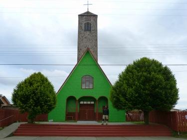 Església de Cucao de Velez