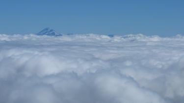 Des de dalt del Villarica veiem el seu germà