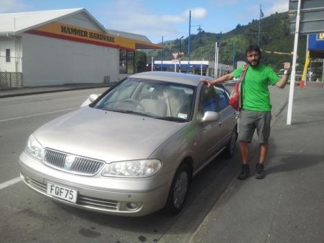 El nostre cotxet, molt papi xulo...