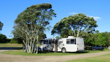 Una campervan de mida habitual a NZ