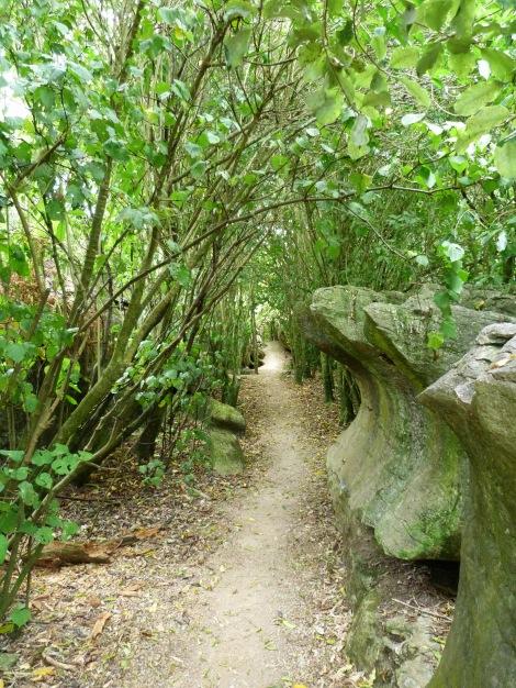 """A prop de Tahakaka hi ha els """"Labyrinths Rocks"""""""