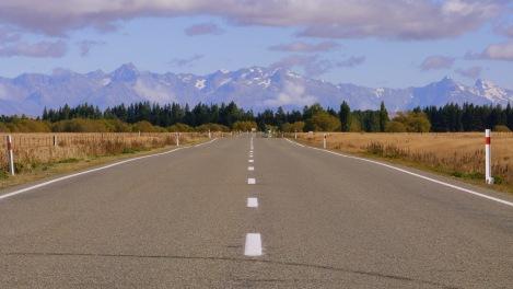 De camí al Mont Cook