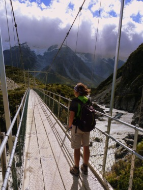 De trekking pel Mont Cook