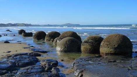 Boulders de Moaraki