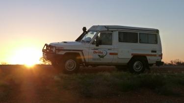 El  nostre mitjà de transport per l'Outback