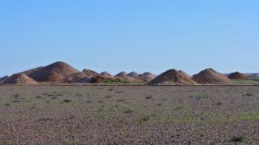 Mines d'Opal a Coober Pedy