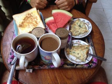 Esmorzar de l'hotel