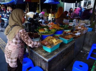 Paradetes de menjar al carrer