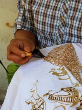 Art Batik tradicional