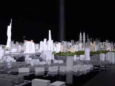 Kuala Lumpur és tot un projecte, una maqueta de modernitat