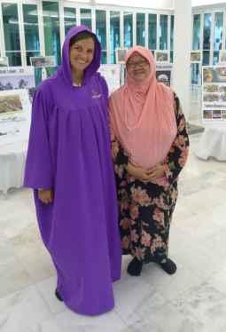 L'amiga que ens explica sobre la mesquita i l'Islam