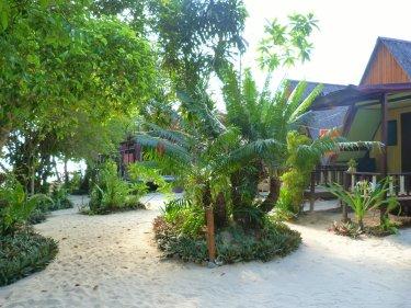 El nostre bungalow en plena platja