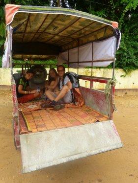 De tour en moto-tricilce