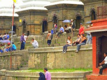 Voltant per Pashupatinath