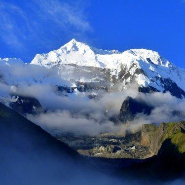 Annapurna II des de Upper Pisang