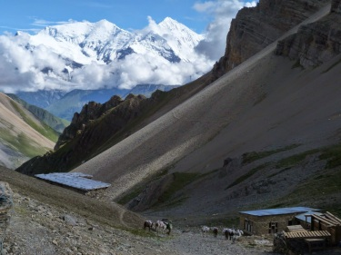 Vistes des de High Camp